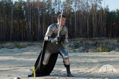 L'armatura medievale di cavaliere Paladino