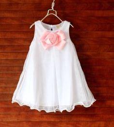 Nowa sukienka z kokardą roz.122-128 http://dzieciociuszek.pl/products/34139