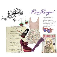 Luna Lovegood, created by sally-anne on Polyvore