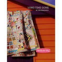 Long Time Gone Quilt Pattern Booklet<BR>Jen Kingwell Designs #JKD-5972