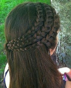 Hair style for long hair trends indian Latest Long Hairstyle Open Hairstyles, Braided Hairstyles For Black Women, Easy Hairstyles For Long Hair, Casual Hairstyles, Braids For Long Hair, Pretty Hairstyles, School Hairstyles, Updo Hairstyle, Prom Hairstyles