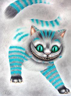 *THE CHESHIRE CAT ~ Alice in Wonderland