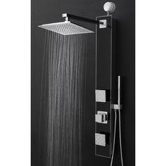 GoldenVantage Temperature Control Tower Shower Panel System & Reviews   Wayfair