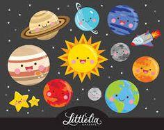 Resultado de imagem para sistema solar aquarela