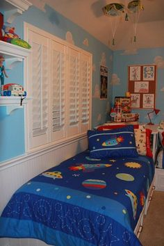 mom recreates andy s room from toy story boys room