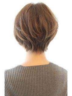 Asian Short Hair, Medium Short Hair, Short Hair Cuts, Medium Hair Styles, Curly Hair Styles, Bobs For Thin Hair, Short Hair With Layers, Layered Hair, Pixie Haircut Thin Hair