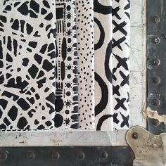 """Sometimes there\'s nothing better than patterns in black...all of my designs look great in…"""""""
