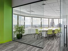 Daroff Design / DDI Architects have completed the PIDC offices, an economic development agency located in Philadelphia, Pennsylvania. Daroff Design Inc. Green Accent Walls, Office Workstations, Adjustable Height Desk, Break Room, Window Wall, Architectural Elements, Side Chairs, Philadelphia, Offices