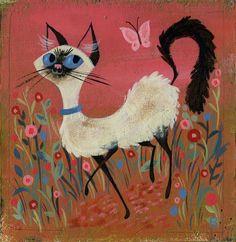 Siamese by Brigette Barrager