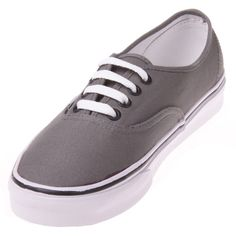 0af1c5ec6c The Vans Authentic Pewter Grey shoe is a classic from the Simple and  stylish