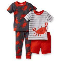 4-Piece Snug Fit Cotton Pjs Baby Boy Pajamas e1f91b82ab356