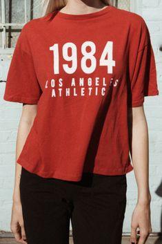 1cd87a53447 Aleena Los Angeles Athletics 1984 Top - Graphics