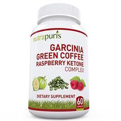 Nutrapuris Best '3-In-1' Garcinia Cambogia, Green Coffee ...