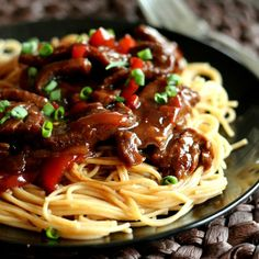 Slow cooker mongolian beef from the recipe rebel