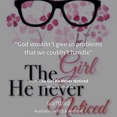 "I'm reading ""The Girl He Never Noticed"" on #Wattpad. http://w.tt/1JgNFfK #romance #quote"