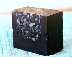 """I want a bar of this gorgeous soap reviewed on the Soap Bar blog! It's """"Black Beauty"""" from Tokyo Factory"""