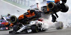 Terrifying Belgian GP Crash Shows How Well the Formula 1 Halo Works F1 Crash, I Take A Nap, Watch F1, Belgian Grand Prix, Formula 1 Car, Ferrari F1, Thing 1, F1 Racing, Autos