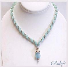 How to make the V-Shape in a Spiral Rope Chain. #Seed #Bead #Tutorial