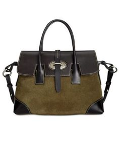 Dooney & Bourke Verona Suede Elisa Satchel - Handbags & Accessories - Macy's