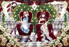 APO-46-517 yuki*mami アリスと女王 450ピース ジグソーパズル[CP-A]