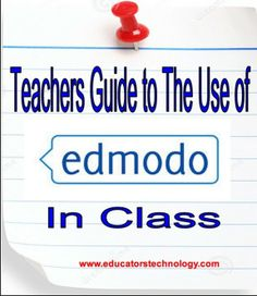 All The Resources Teachers Need to Start Using Edmodo in Class ~ Educational Technology and Mobile Learning