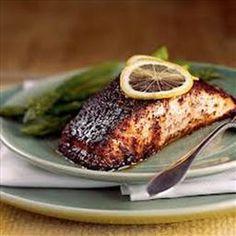 Barbecue Roasted Salmon