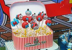 Thomas The Train 1st Birthday Party