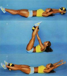 Ab workout with medicine ball