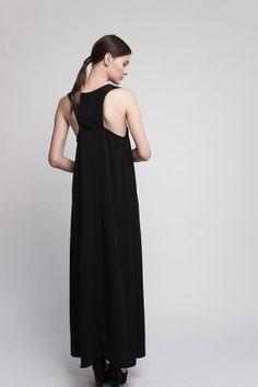 A subtle-yet-striking cut sets this summer maxi dress apart.