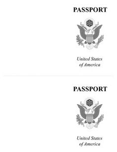 Vbs  Awa  Passport Template  Stamp The Passport For Each