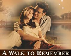 mandy moore a walk to remember - Such a beautiful movie!