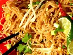 This lovely flavour packed rice noodle dish is a fantastic accompaniment to other oriental style dishes or a great meal all on it's own. The red curry paste recipe here will much more than yo…