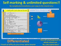 Y6 KS2 SATs Revision - mental maths question generator (self-marking): Revision tool with unlimited questions! For use on pupil shared areas, all questions are modelled on past mm SATs. Once downloaded put on your school network for pupils to work on in the ICT room, or give to them to take home (no complicated installation just copy to the shared area).
