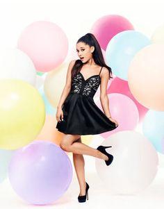 Ariana Grande x Lipsy Lace Cami Prom Dress Ariana Grande Lipsy, Ariana Grande Fotos, Ariana Grande Photoshoot, Ariana Grande Outfits, Lipsy Dresses, Prom Dresses, Dress Prom, Formal Dresses, Plunging Neckline Dress