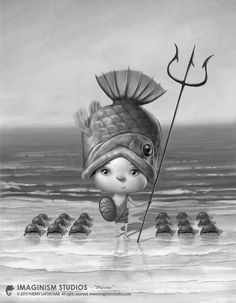 Pisces Picture  (2d, character, child, girl, fantasy)