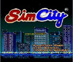 Sim City - Super Nintendo - Super Nintendo Entertainment System - Nintendo