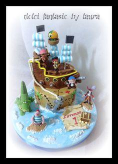 Jake e i pirati !!!! Personaggi del piccolo festeggiato