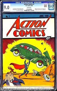 Action-Comics-1-June-1938-Supermans-Debut-CGC-9-0-Perfect-White-Pages