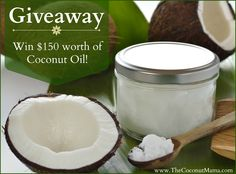 Giveaway: Win $150 Worth of Coconut Oil!