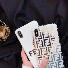 Fendi Style Electroplating Glossy TPU Silicone Designer iPhone Case #bestairpodsproprotectivecase Fendi, Goyard Iphone Case, Designer Iphone Case, Silicone Iphone Cases, Plus 8, Monogram Styles, Iphone Models, Apple Iphone 6, Iphone Se