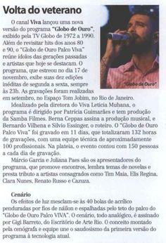 #DiogoNogueira 2014 Tela Viva
