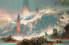 Art by Theo Prins - Paintings. stereoscopic views are fun.