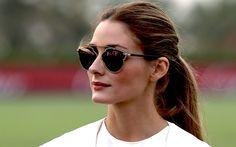 Olivia Palermo mit stylischer Sonnenbrille
