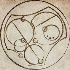 """I love you"" in circular Gallifreyan"