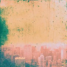 Buy New York red blue green and gold - Limited Edition 1 of 100, a Color on Paper by NADIA ATTURA from United Kingdom. It portrays: Cities, relevant to: red, skyline, skyscraper, square, urban, Cityscape, new york, manhattan, limited edition, city, colorful, orange Manhattan skyline inspired by mid century graphics and comic books. My original medium format negative worked in layers using textures and washes to create the final print.   Fine Art photographic print, professionally hand…