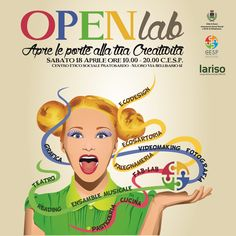 Bozza grafica Openlab. La bozza della grafica per un'evento. #giuliabasolugrafica #graphic #illustration #drawing #illustrator #digitalart #vector #brochure #volantino #leaflet