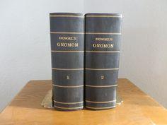 Antique Religious Book Set John Albert by DanPickedMinerals