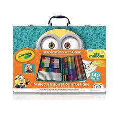 Aubaines En Ligne: Mallette Inspiration Artistique À Thème Des Minions Crayola