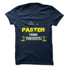 cool its t shirt name PASTER