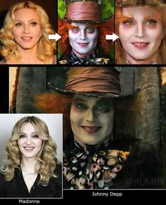 Madonna and Johnny Depp - Is this the way their children would look like?